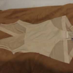 One Piece Sheer Bodice